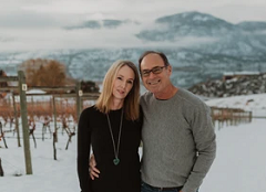 Owner & Winemaker Luke Smith and his wifeJennifer